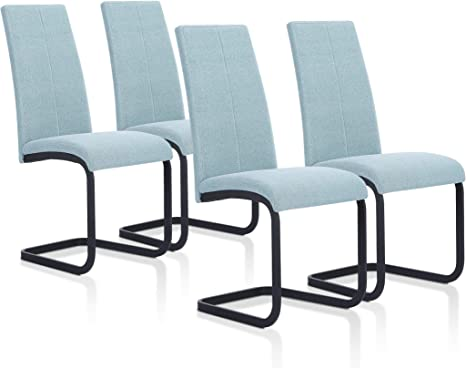SuenosZzz - Pack sillas (x4) Ceres Color Verde Agua, para Comedor ...