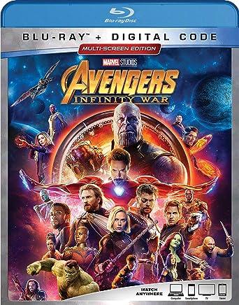 Amazon com: AVENGERS: INFINITY WAR [Blu-ray]: Robert Downey