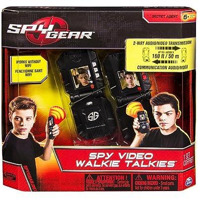 Spy Gear Video walkie Talkie: Toys & Games