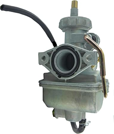QAZAKY Adjustable Carburetor with Gasket Fuel Filte Line for Tecumseh 640349 640052 640054 640058 640058A HMSK80 HMSK85 HMSK90 HMSK100 HSMK110 LH318A LH358SA 8HP 9HP 10HP Snowblower Chipper Shredder