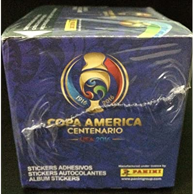 USA 2016 Copa America CENTENARIO Panini complete 50 packs box , Total of 350 stickers: Toys & Games