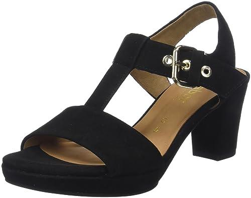 018187326ec2 Gabor Women s Comfort Fashion Ankle Strap Sandals  Amazon.co.uk ...