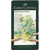 Faber-Castell FC112112 PITT Pastel Pencils Tin Of 12