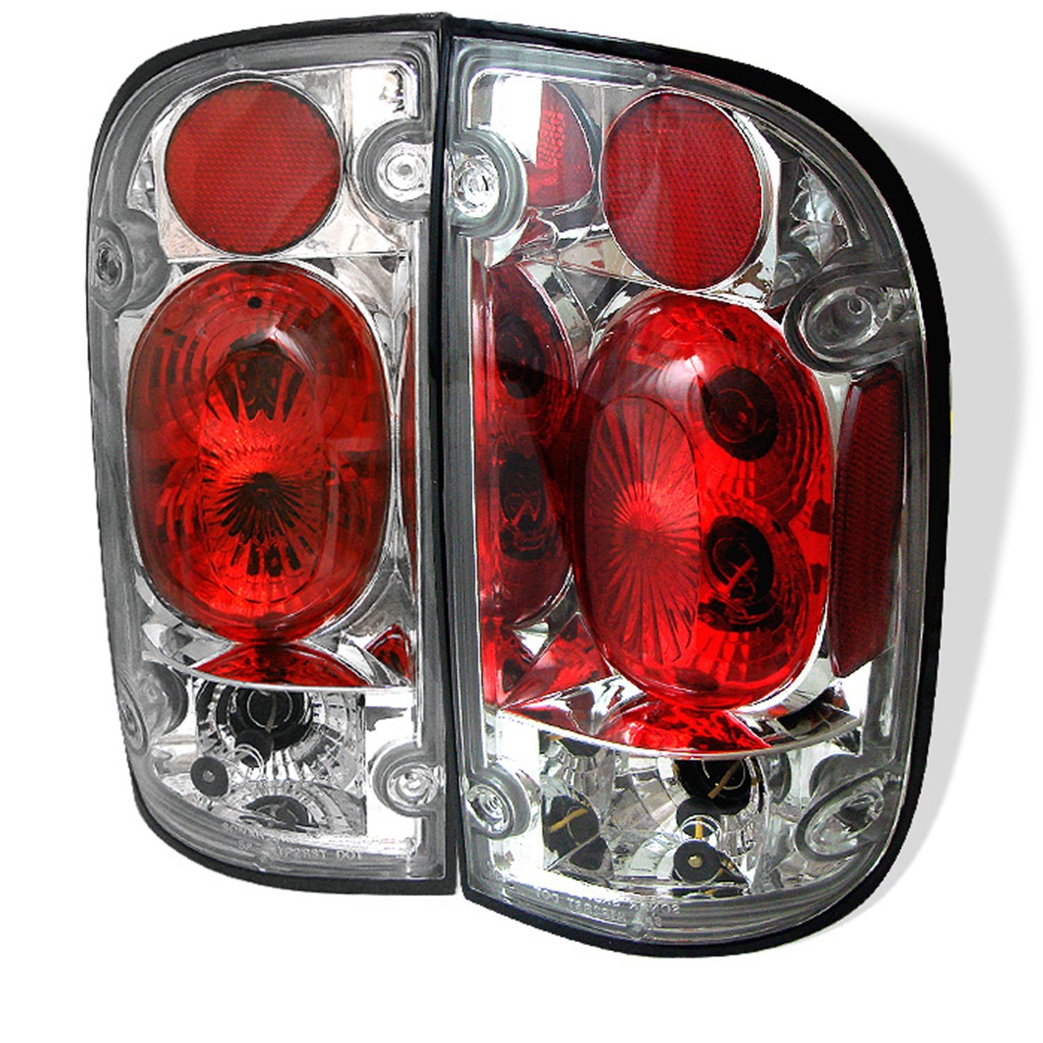Spyder Auto Toyota Tacoma Black Altezza Tail Light ALT-YD-TT01-BK SPY:ALTYDTT01BK