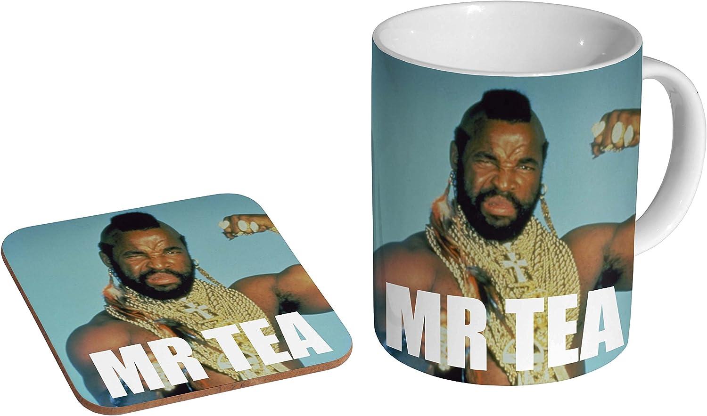 Mr Tea Photo Mug with Coaster