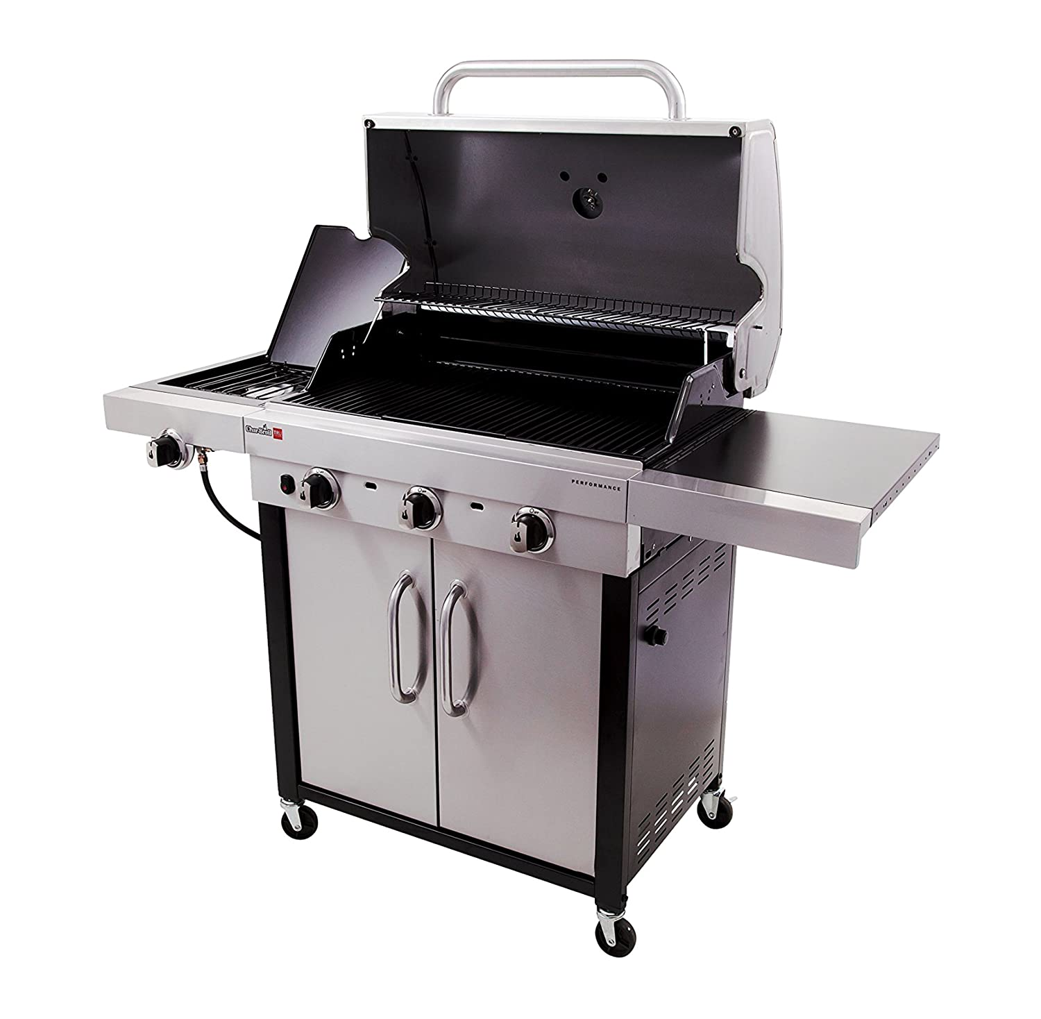 amazon com char broil performance tru infrared 500 3 burner