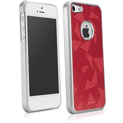 Amazon.com: iPhone 5 funda, BoxWave [Glameo caso] carcasa ...