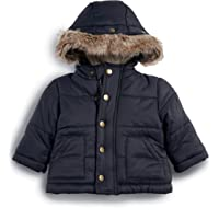 Mamas & Papas Boys Coat, Warm Coat, Winter, Baby Boy - Blue