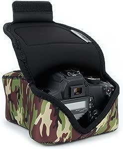 USA Gear Funda Para Cámara DSLR con Protección de Neopreno, Presilla Para Cinturón y Almacenamiento de Accesorios: Amazon.es: Electrónica