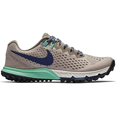 size 40 c3925 fe878 Amazon.com   Nike Women s Air Zoom Terra Kiger 4 Running Shoe DIFFUSED  Taupe Blue Void-Mink Brown 9.0   Trail Running