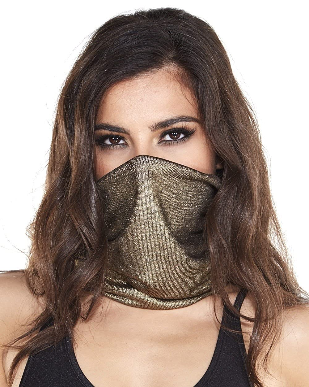 iHeartRaves Seamless Rave Mask All Over Print Bandana - Choose from many designs mask_ktx_rb-kty