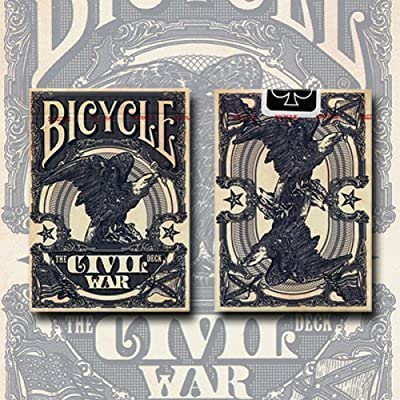 US Playing Card Co. Bicycle Civil War Deck (Blue) Trick: Toys & Games