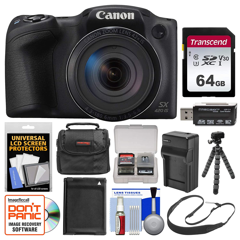 Canon PowerShot SX420 es Wi-Fi cámara Digital con Tarjeta de ...