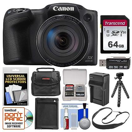 Canon PowerShot SX420 es Wi-Fi cámara Digital con Tarjeta de 64 GB ...