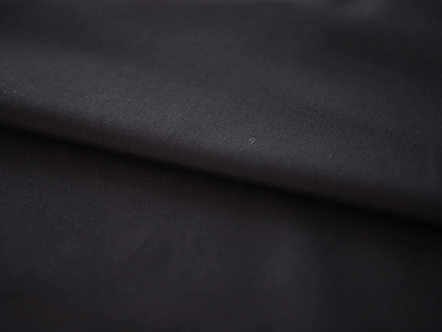 3yard, Black COTTONVILL 20count Cotton Solid Quilting Fabric