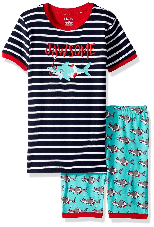 New Hatley Snorkelling Sharks Organic Pyjama Pajamas PJ 3 4 5 6 7 8 10 12