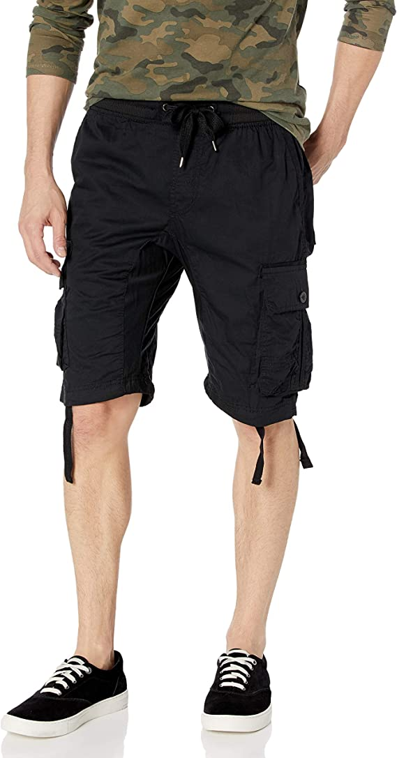 Southpole Little Boys Twill Cargo Shorts in Solid Colors
