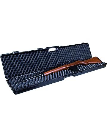 GSG Maletín de arma con Inserto de espuma, Negro