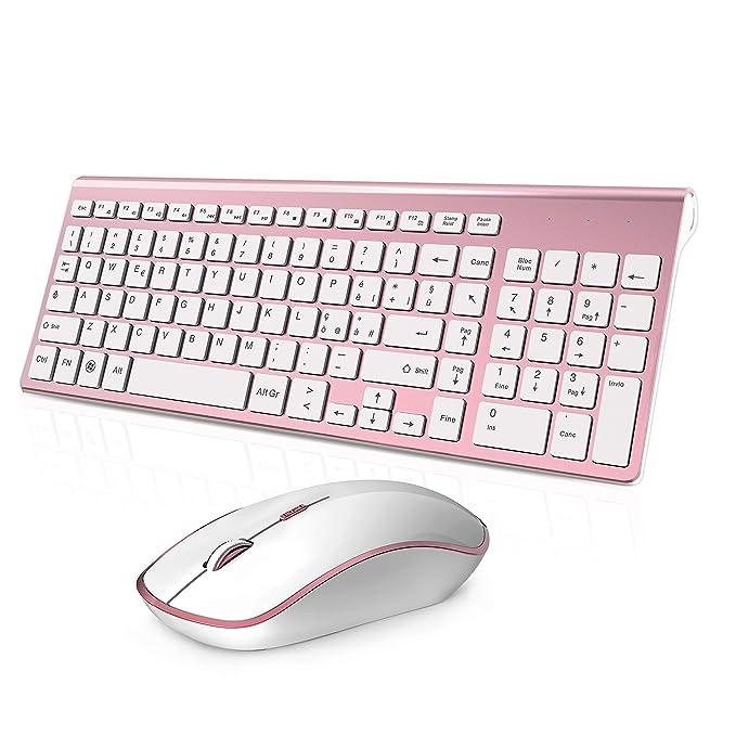 150 opinioni per Tastiera e Mouse Wireless,Full-size