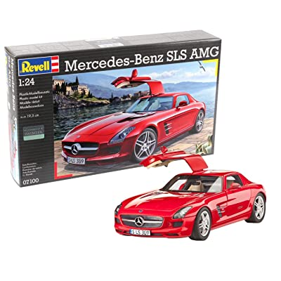 Revell Germany 07100 Mercedes-Benz SLS AMG Model Kit: Toys & Games