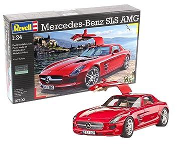 Revell - Maqueta Mercedes-Benz SLS AMG, Escala 1:24 (07100)