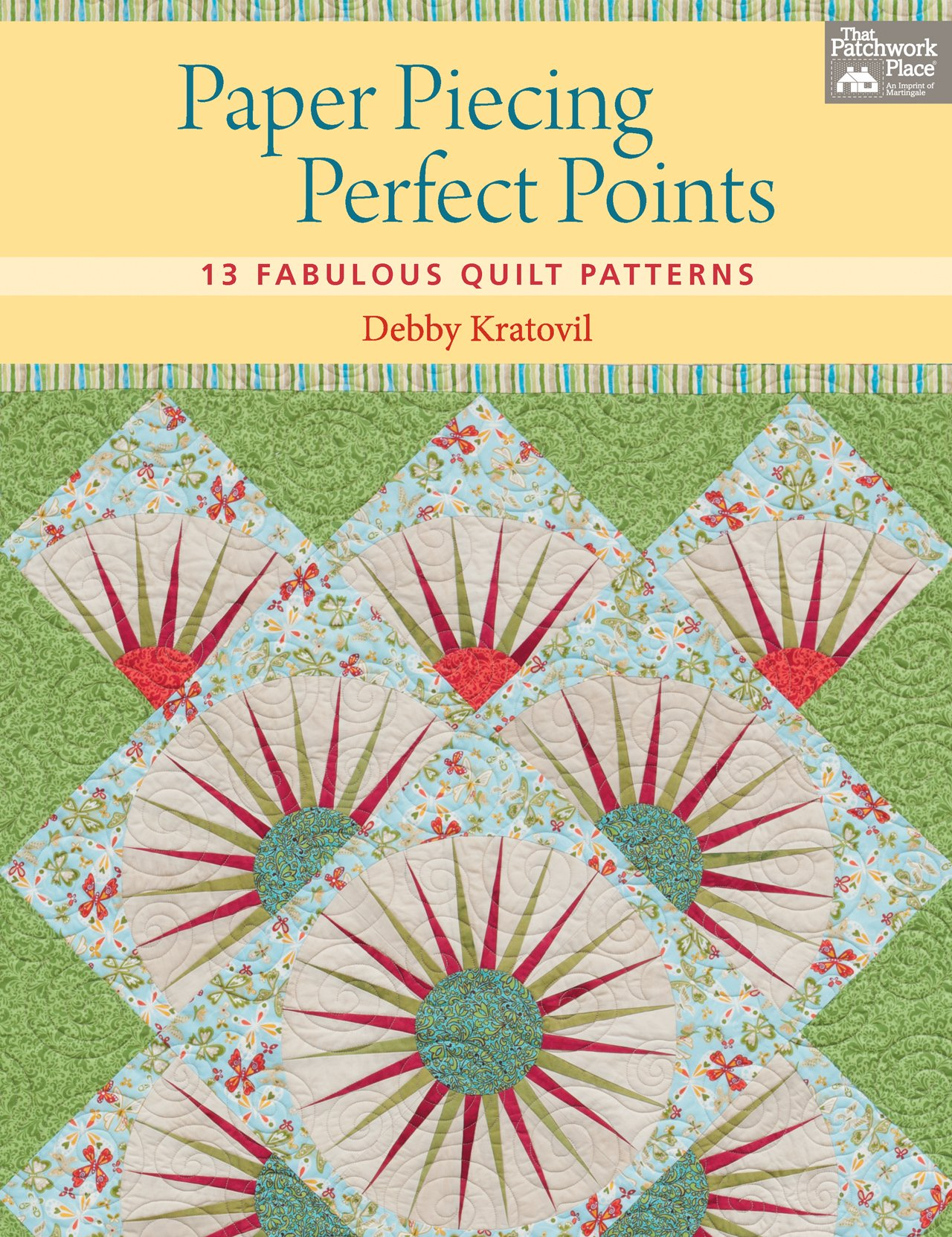 Download Paper Piecing Perfect Points: 13 Fabulous Quilt Patterns PDF