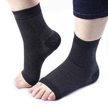 Hombre Calcetines Deportivos Fascitis Plantar Calcetines fasciitis Calcetines Sport Medias de compresión Calcetines de compresión –