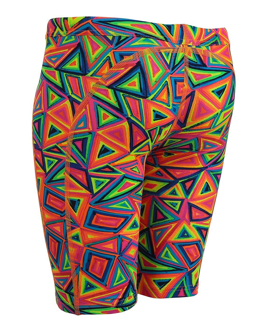 4dc945ad05 Funky Trunks Male Training Jammer - Crazy Crayon: Amazon.co.uk: Sports &  Outdoors