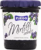 Zuegg - Confettura Extra di Mirtilli Selvatici - 12 pezzi da 320 g [3840 g]