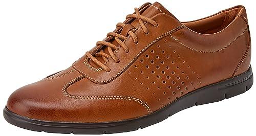 Clarks Marroni Walk Tynamo Amazon shoes Pelle eH2IW9YbED