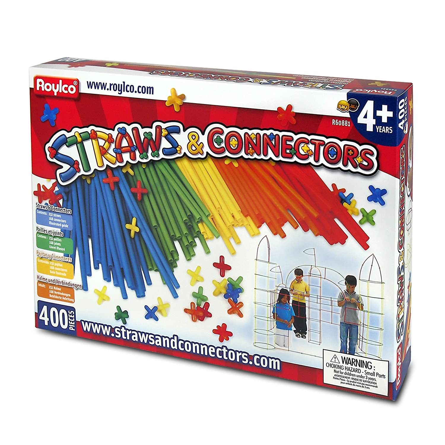 Straws and Connectors 400 Pack