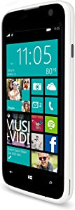 "BLU WIN JR - 4.0"" Windows Smartphone - US GSM Unlocked - White"