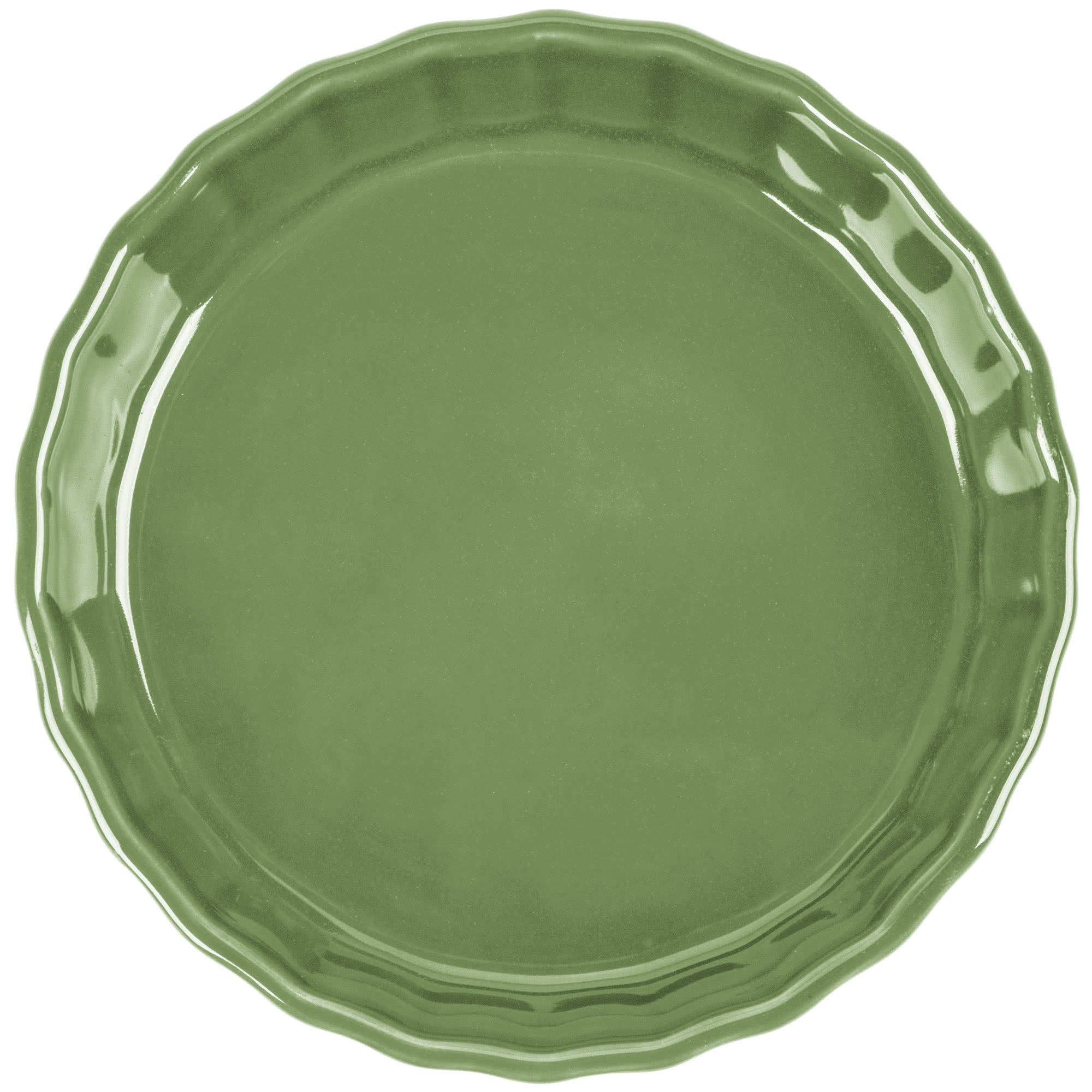 TableTop King QCD-5GRE Festiware Fluted Quiche Dish 5.5 oz. - Green - 24/Case by TableTop King (Image #2)