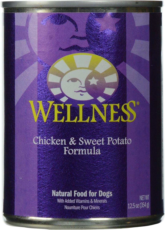 Wellness, Dog Food Chicken & Sweet Potato 12.5 Oz
