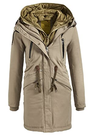 Mantel mit herausnehmbarer weste