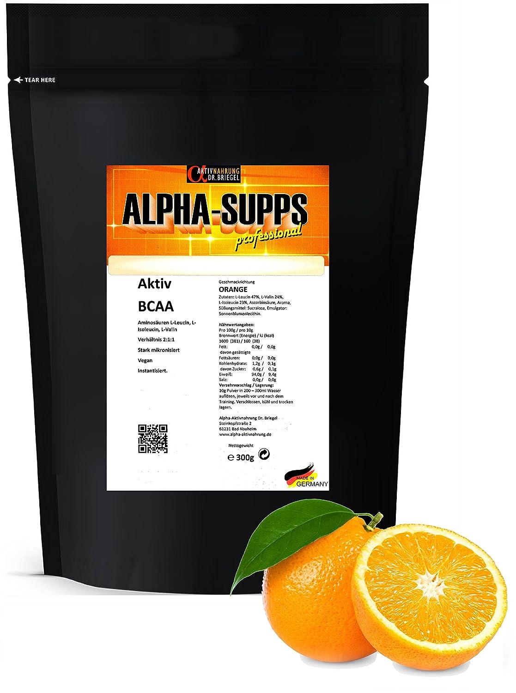 Alpha-Supps Veganes BCAA Pulver