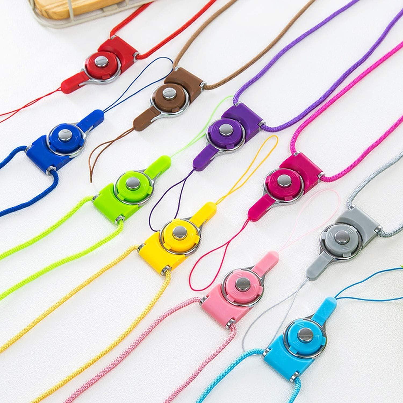 Neck Strap Lanyards for Keys Id Card Gym Mobile Phone Straps USB Badge Holder DIY Phone Hang Rope Lanyard,Pink
