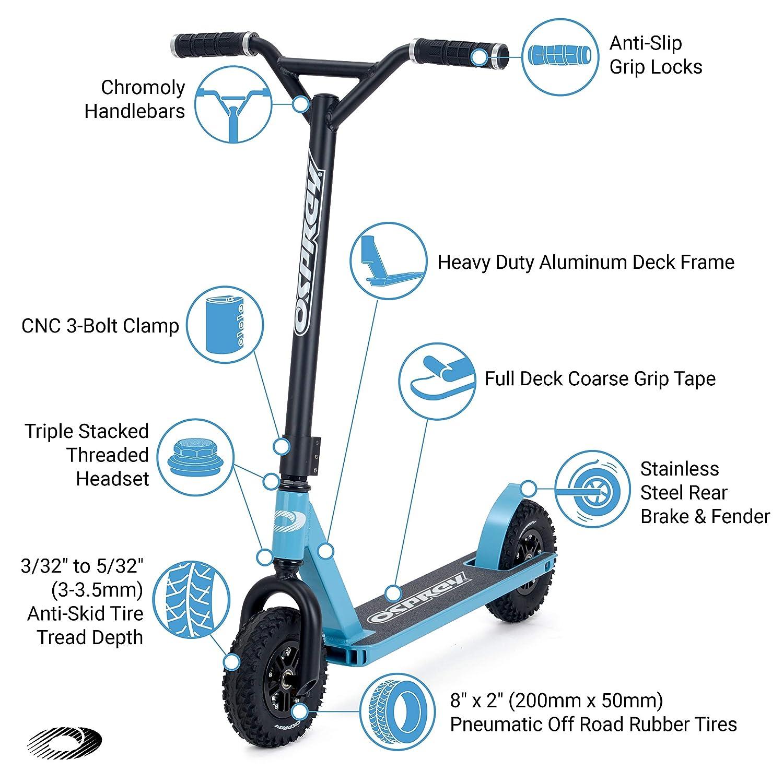 Amazon.com: Osprey - Patinete para suciedad con neumáticos ...