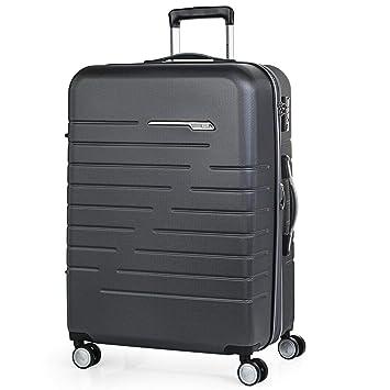 JASLEN - Maleta Trolley Mediana 60 cm ABS. Expandible. Rígida, Resistente y Ligera