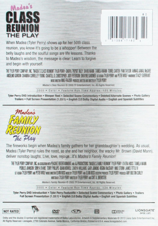 Amazon Tp Madeas Classfamily Reunion Movies Tv