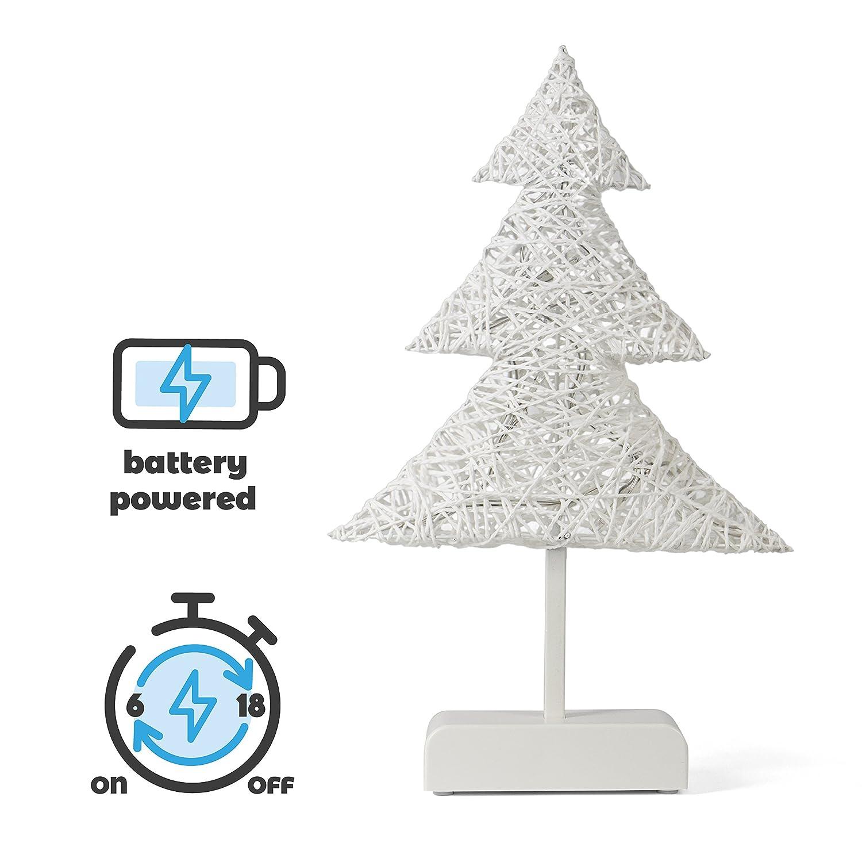 SnowEra LED Dekorationsleuchte / Weihnachtsbeleuchtung kabellos mit ...