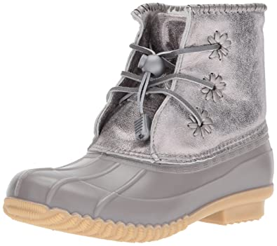 c6f82c8fe Jack Rogers Girls  Miss Chloe Metallic Rain Boot