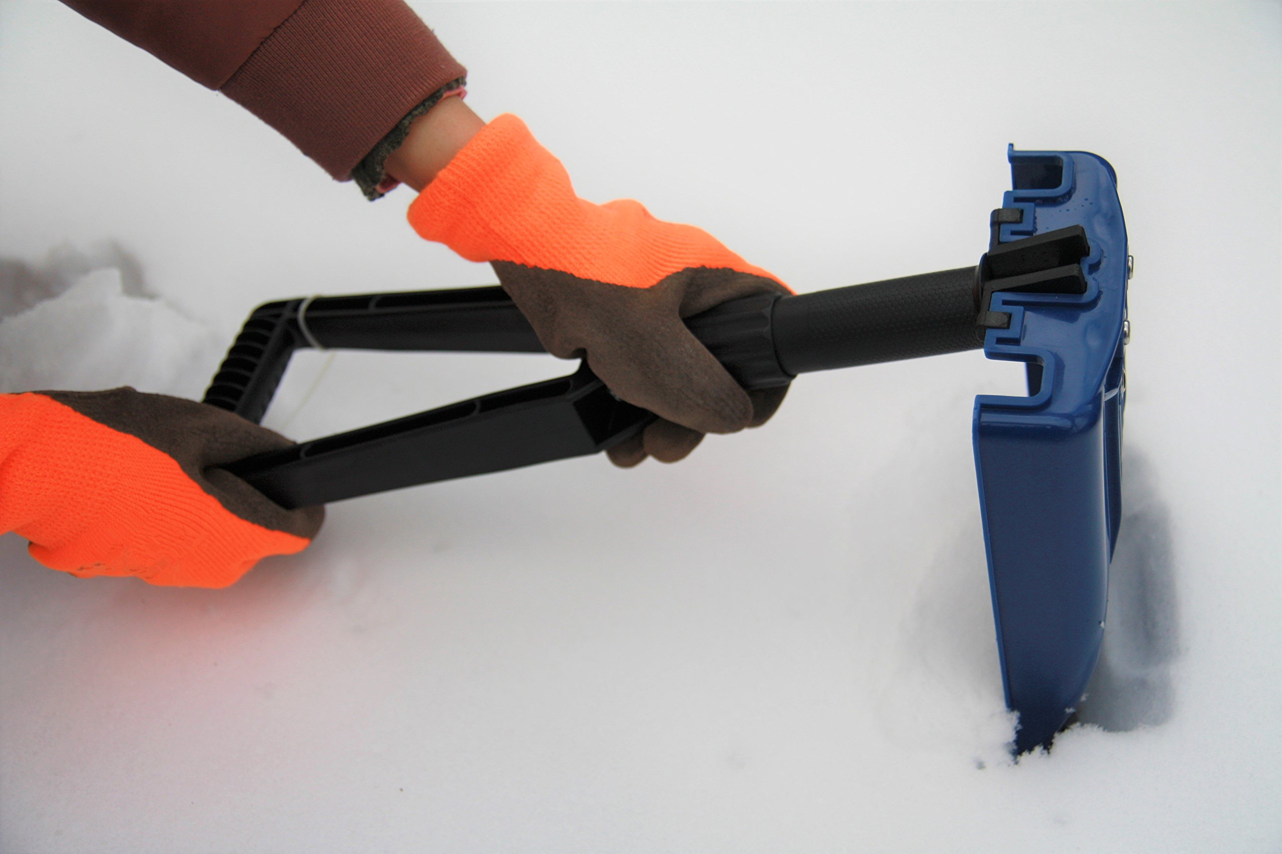 ORIENTOOLS Collapsible Folding Snow Shovel with Durable Aluminum Edge Blade (Blade 6'') by ORIENTOOLS (Image #6)