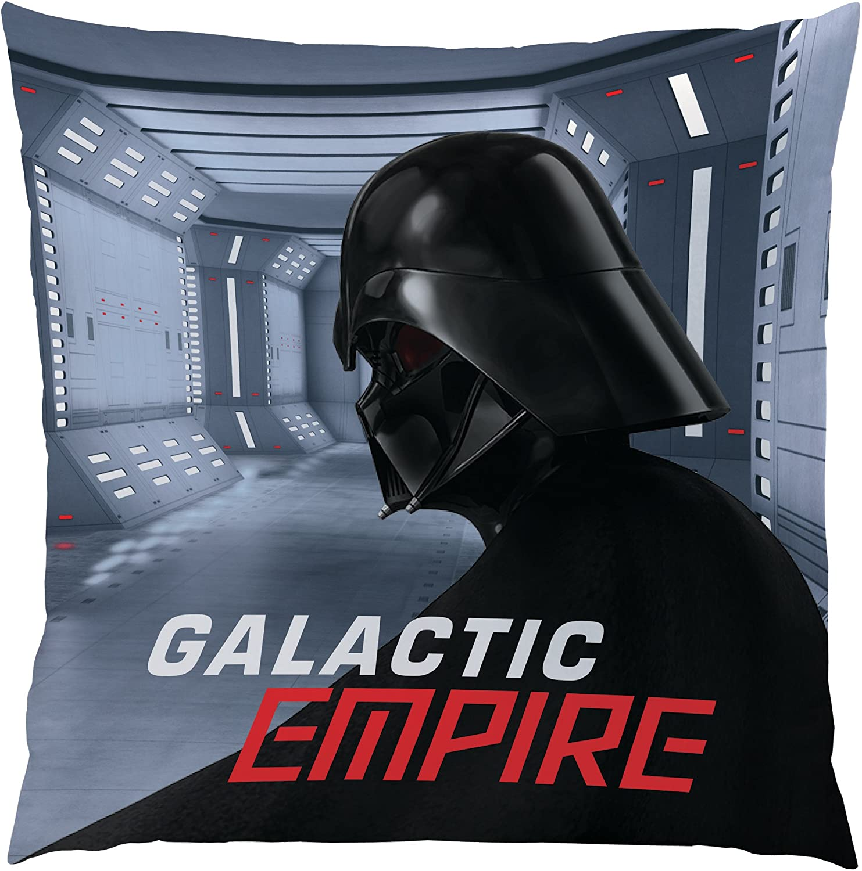 CTI Coussin Star Wars Dark Side 100/% Polyester 40x40 Gris 40x40 cm