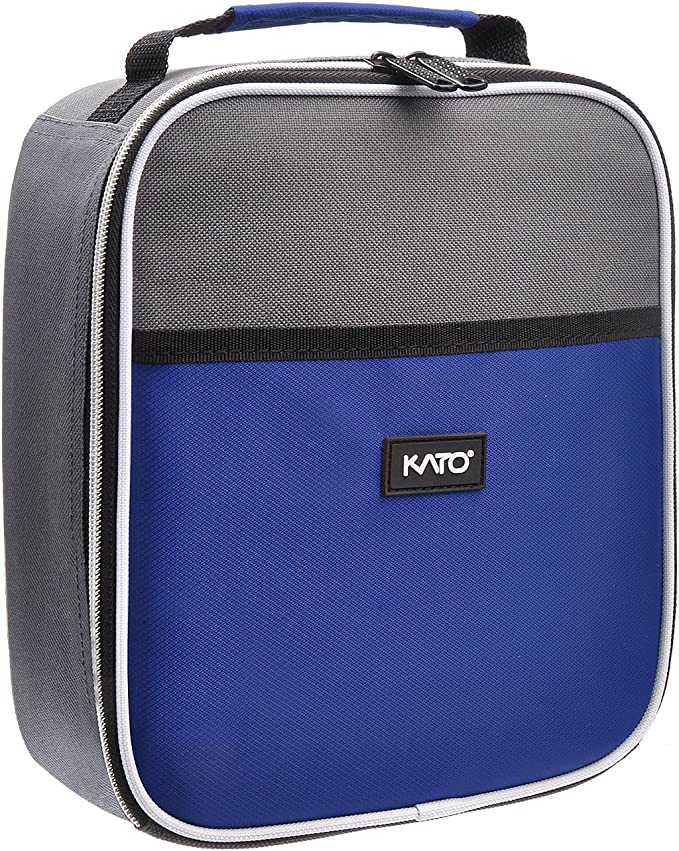 1PC Portable Lunch Bag Insulated Thermal Cooler Box Carry Tote Travel Bags