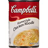 Campbell's Condensed Soup, Homestyle Chicken Noodle, 10.5 Ounce