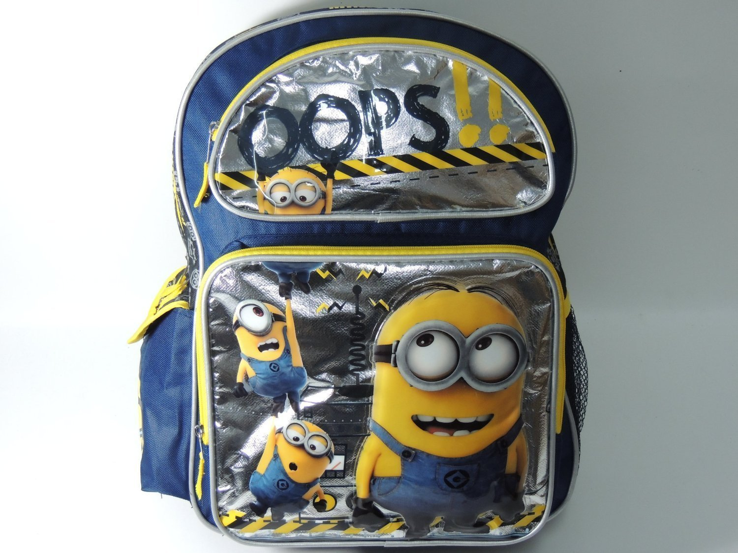 Backpack - Despicable Me 2 - 16 Minion Oops!! Large School Bag New 085500 Accessory Innovations 60175