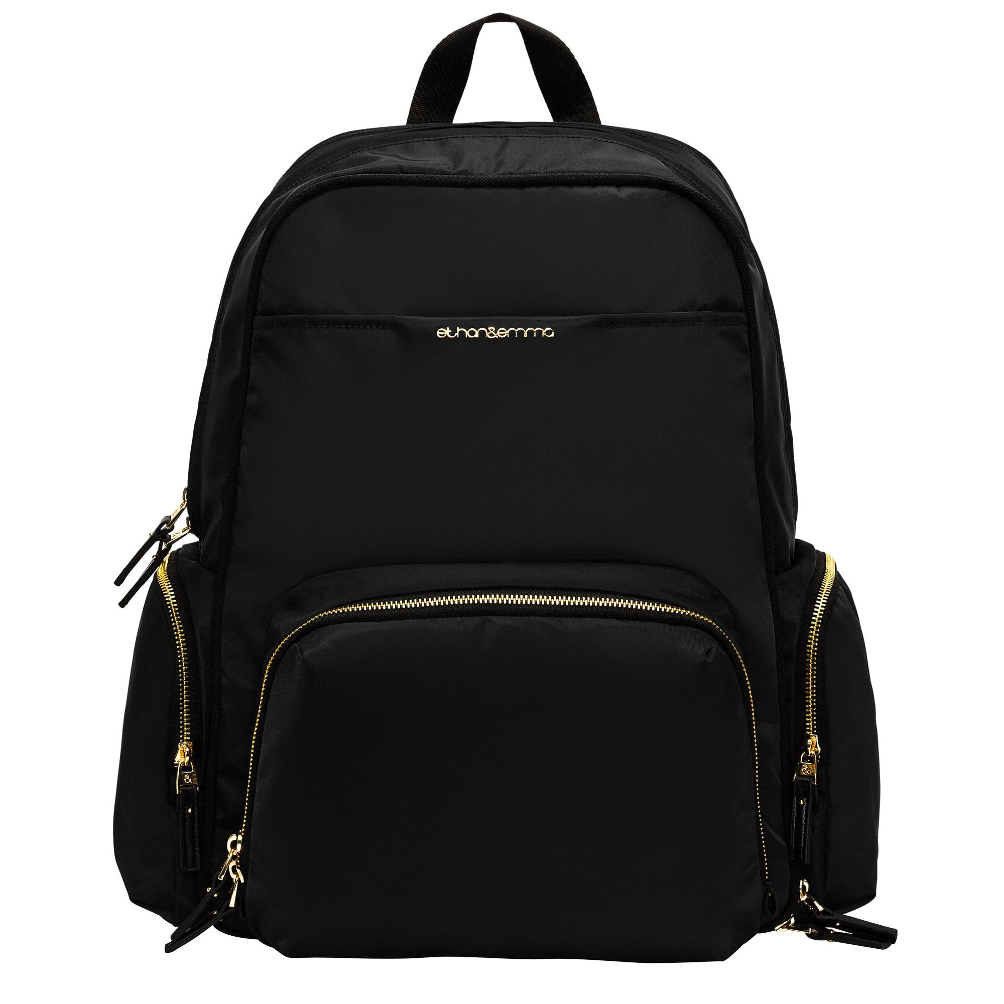"""Best Baby Diaper Bag Backpack for Stylish Women, """"The Balance Series"""" by Ethan & Emma, Beautiful Designer Quality Bags for Moms, Extra Durable for Travel, Tons of Organizer Pockets & Space"""