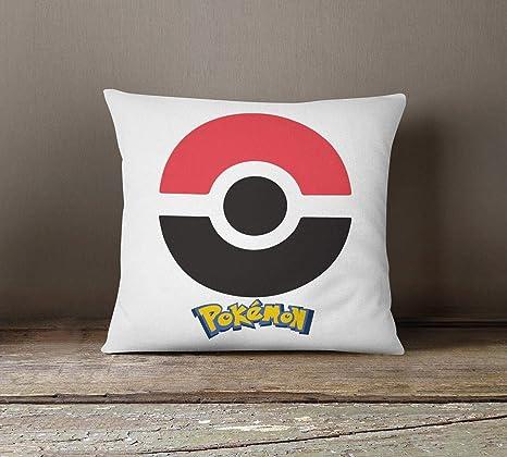 To243Finn Pokemon Go Throw Pillow Accent Pillow Funda de ...