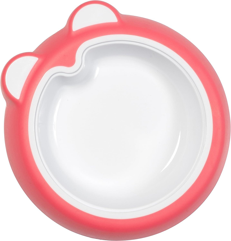 Badabulle Assiette Antid/érapante B/éb/é Corail